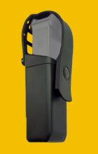 Pouzdra pro zásobníky 9mm Luger s pojistným páskem