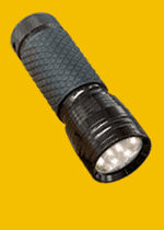 SVÍTILNY kovové s LED diodou